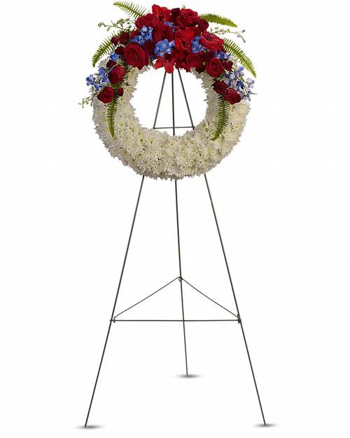 Patriot  Wreath-FNFSW-08