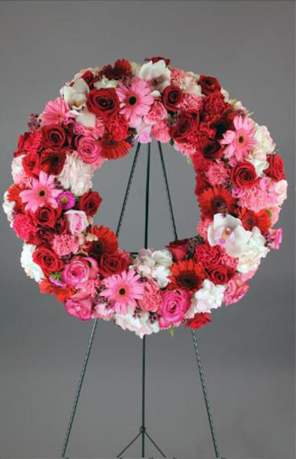 Ruby Reds Wreath-FNFSW-10