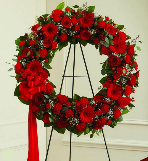 All Red Wreath-FNFSW-16