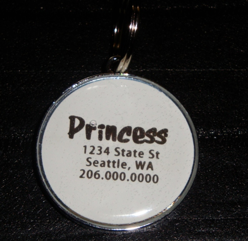 In Memory of Love Pet ID Tag
