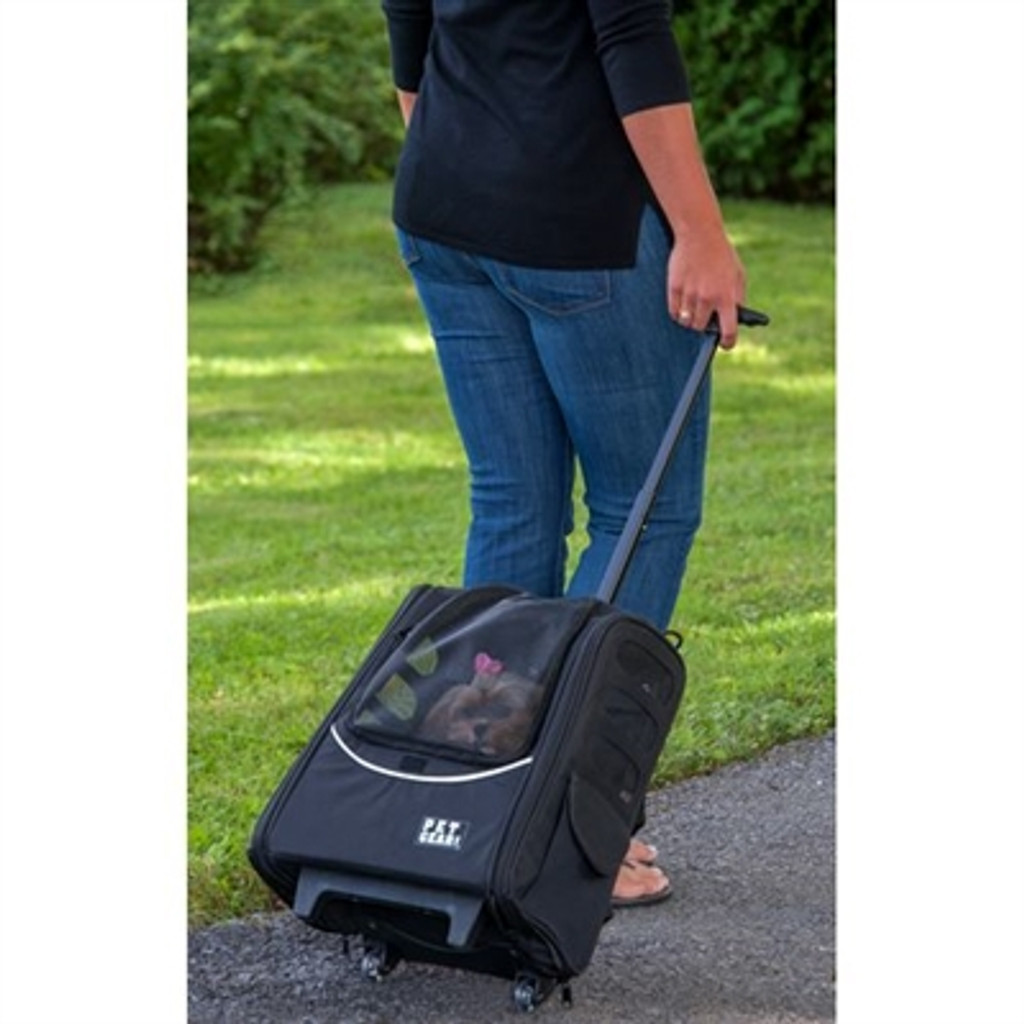Ocean Blue Escort Dog Roller-Backpack