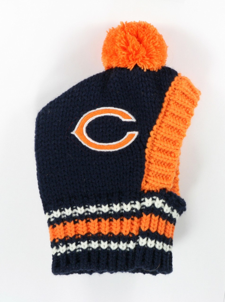 NFL Knit Pet Hat - Bears