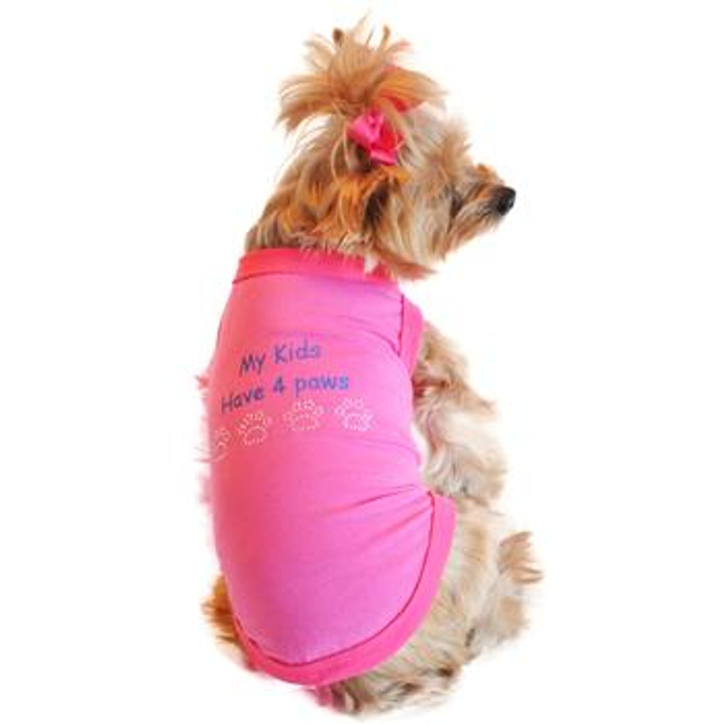 My Kids Have 4 Paws Designer Dog Tank