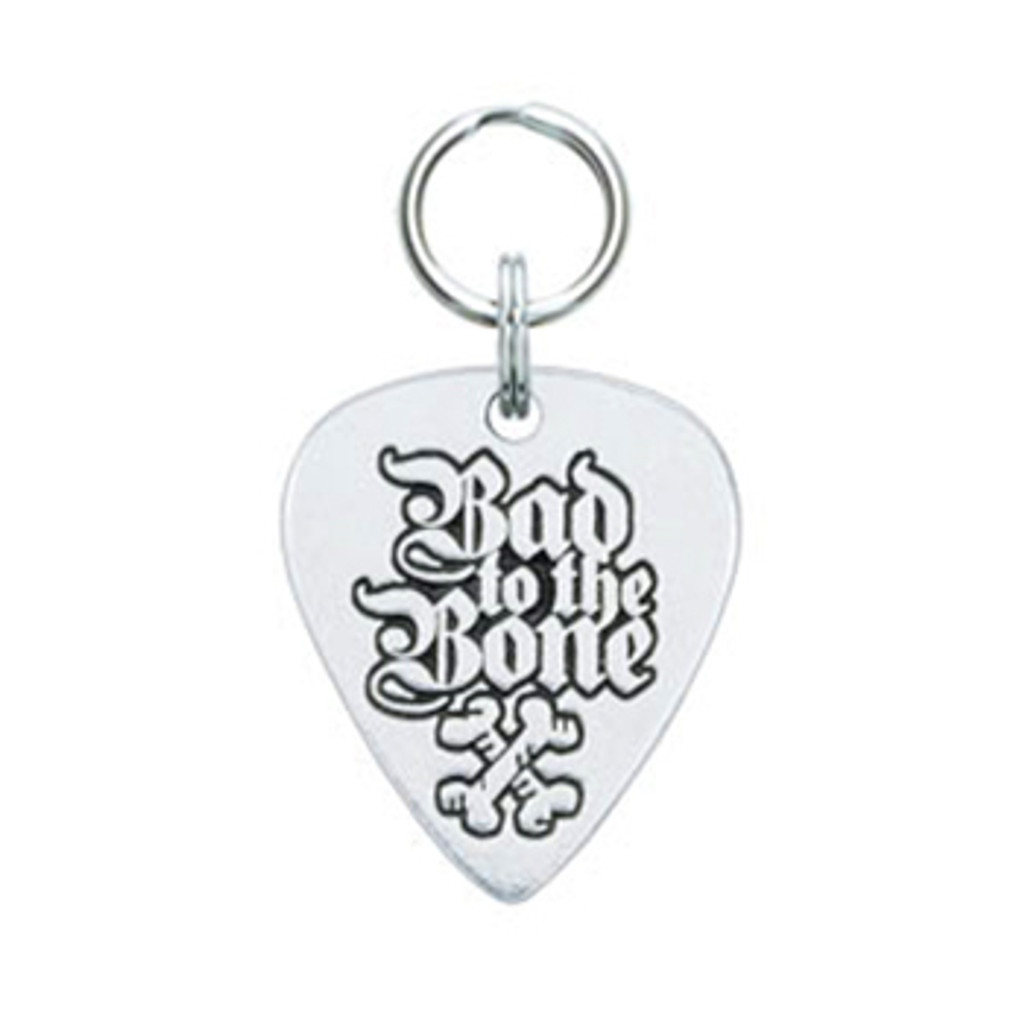 Bad to the Bone Guitar Pick Tag