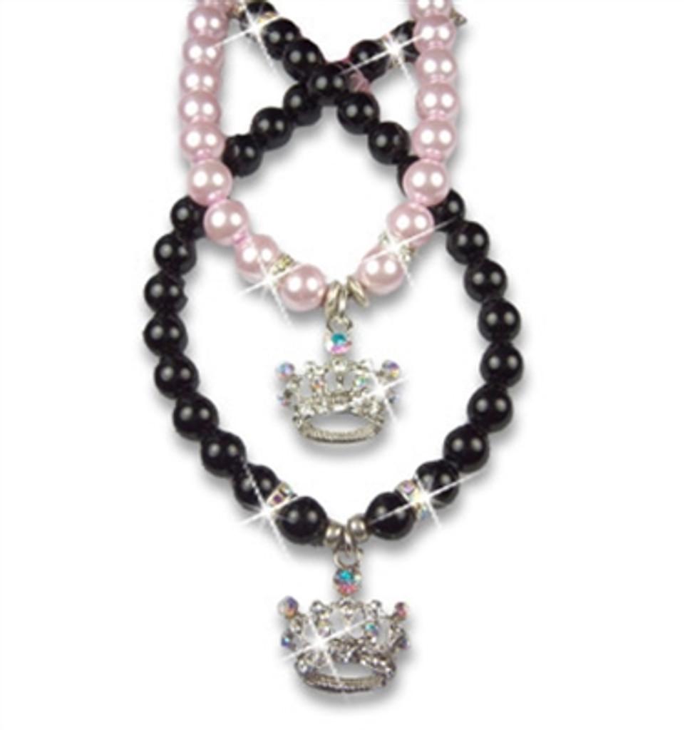 Crown Rocked Large - Pink Pearl