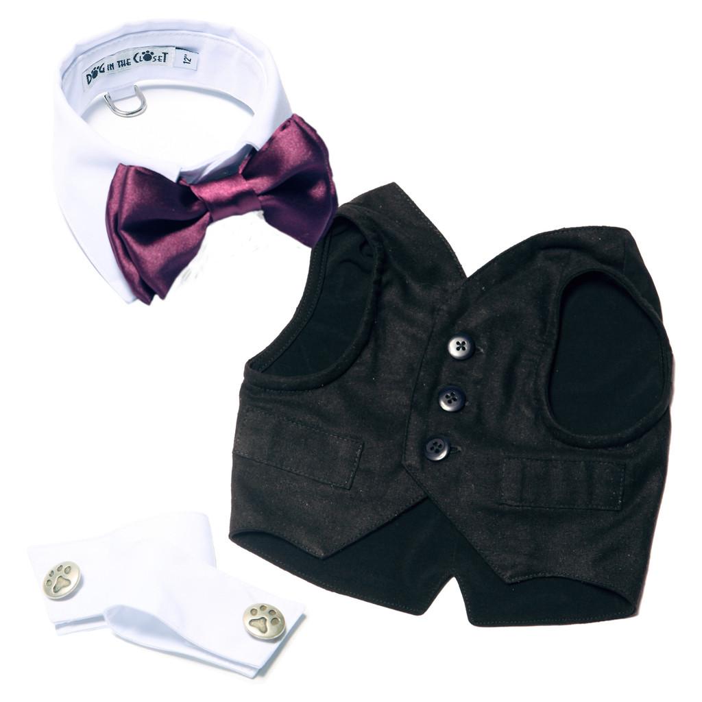 The Gavin Silk Harness Vest
