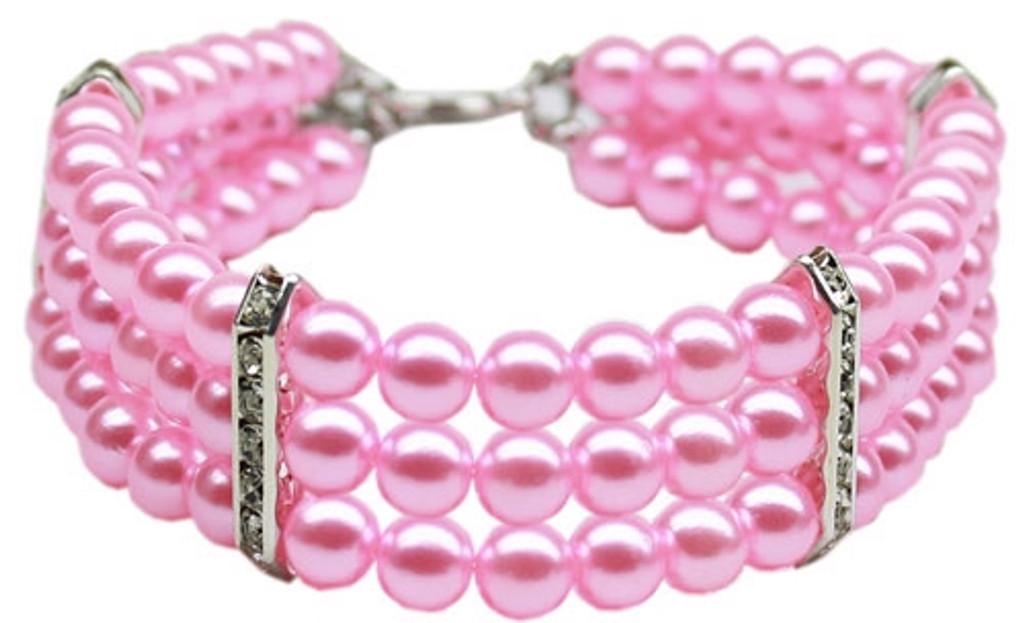 Three Row Pearl Necklaces