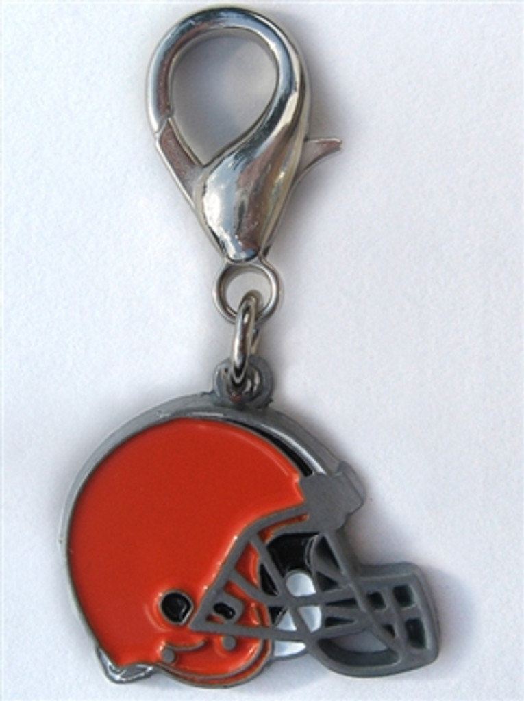 NFL Licensed Cleveland Browns Logo Collar Charm