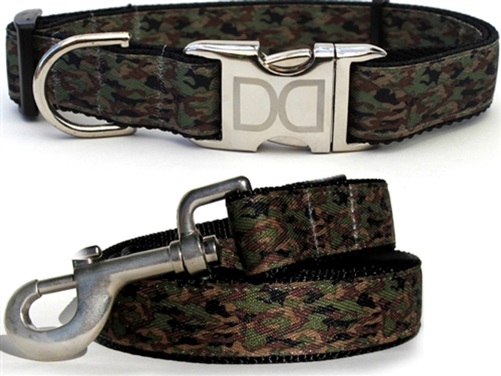 Camo K-9 Collection - All Metal Buckles