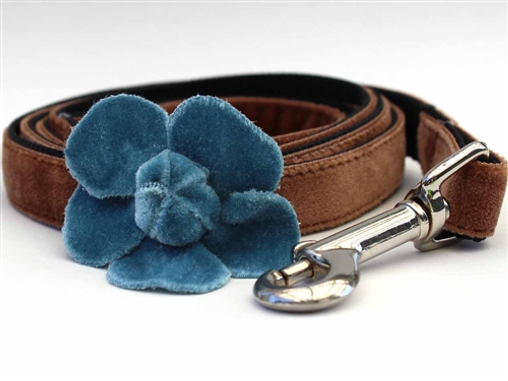 Camellia Collection - Blue Step In Harnesses All Metal Buckles