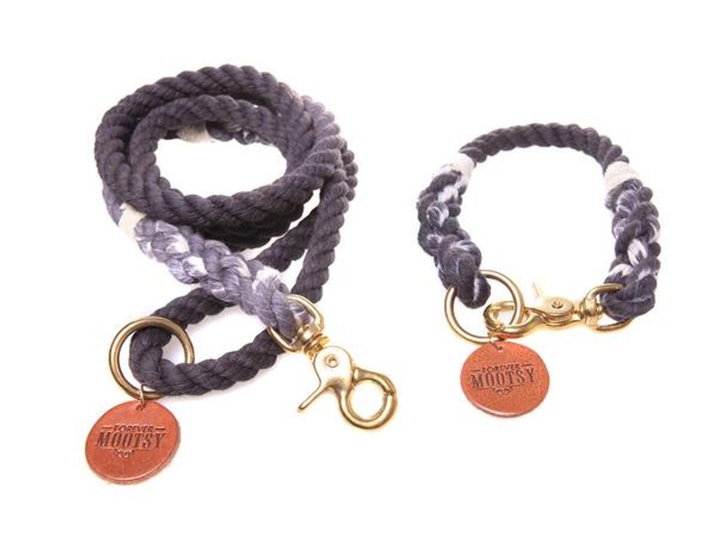 Charcoal Ombré Dog Leash