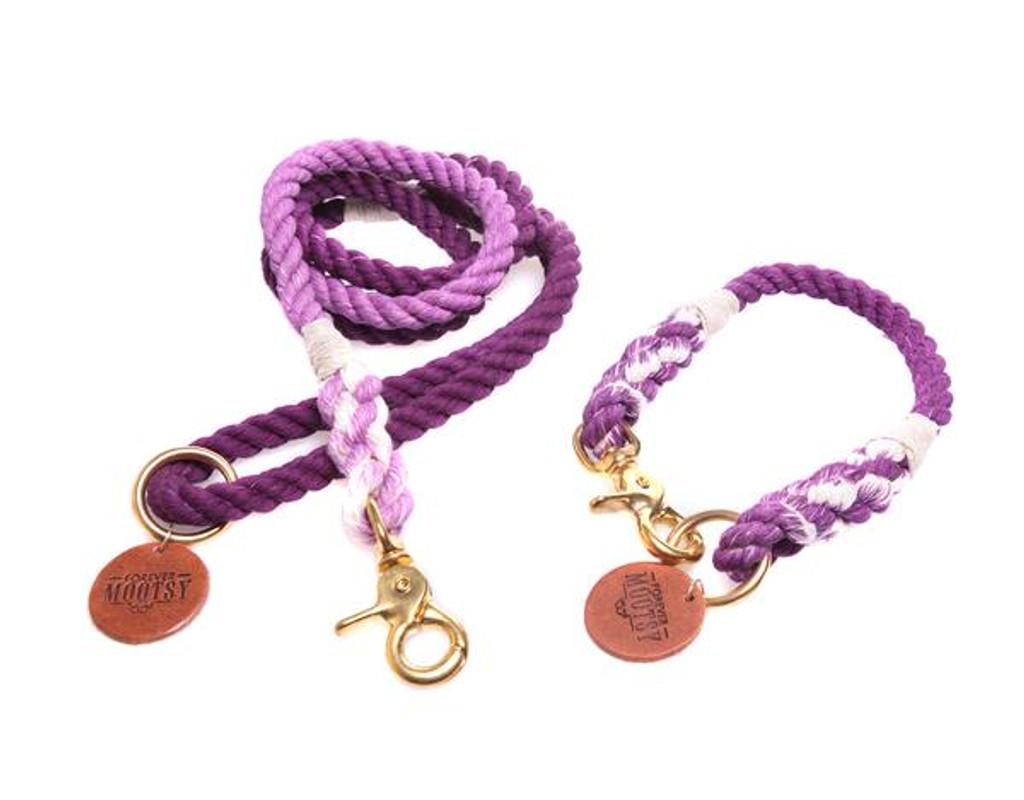 Purple Ombré Dog Leash