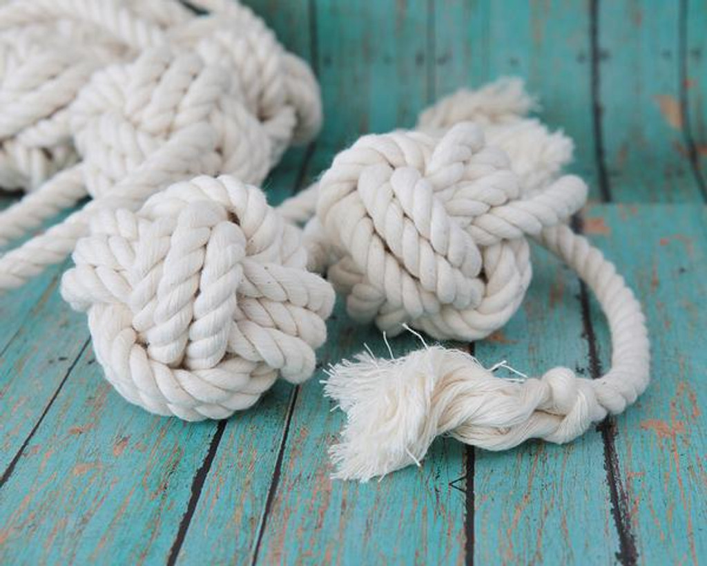 Knot Ball Rope Dog Toy