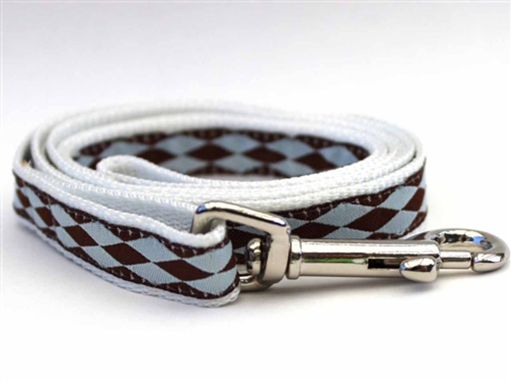 Harlequin Blue - Step In Harnesses All Metal Buckles