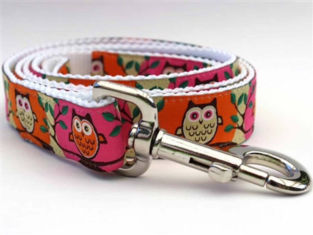 H'Owl Pink Collection - Step In Harnesses All Metal Buckles