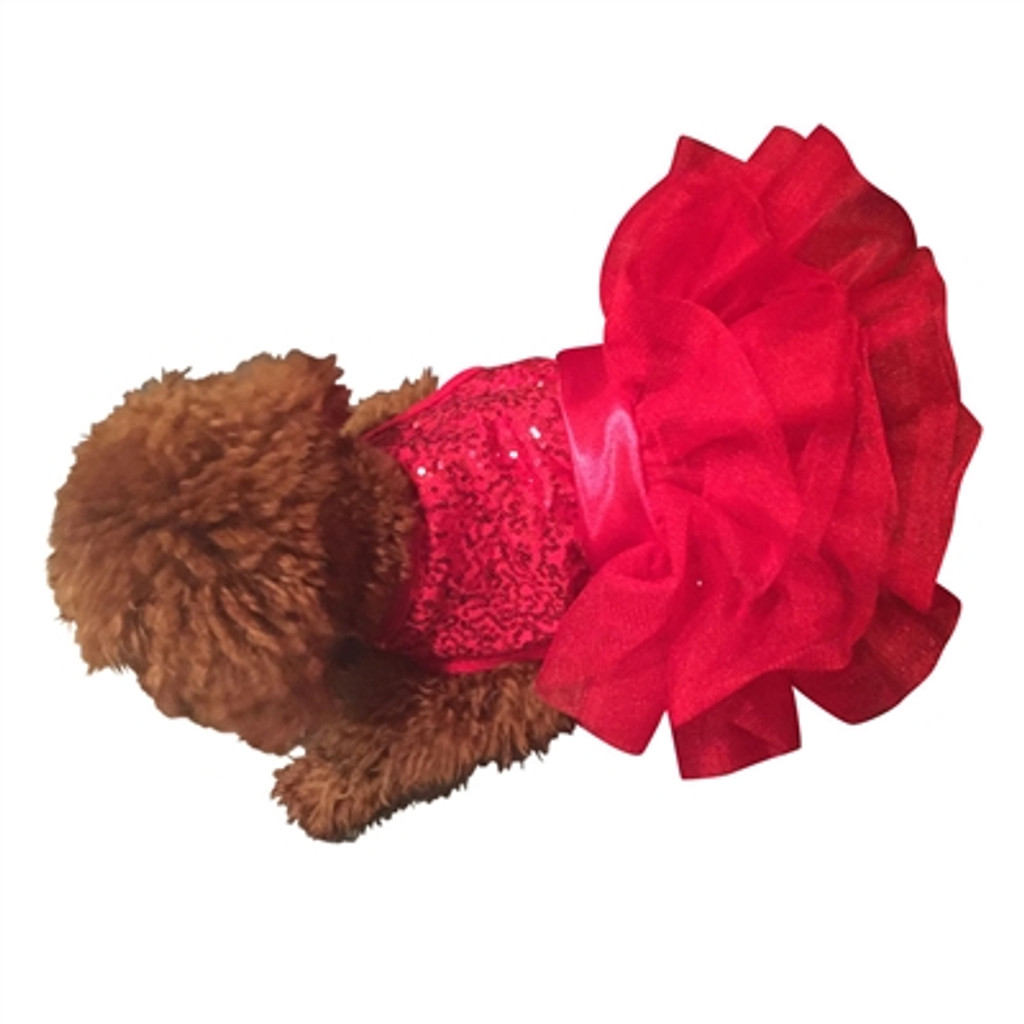 Picture Perfect Red Sequins Fufu Tutu