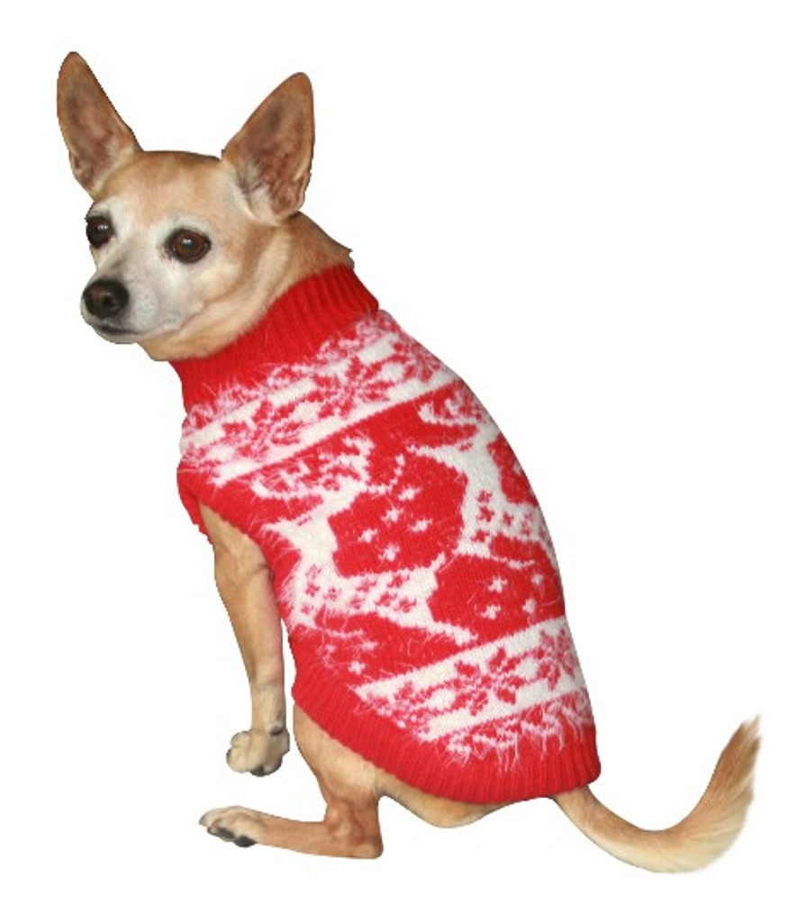 Feathersoft Reindeer Dog Sweater
