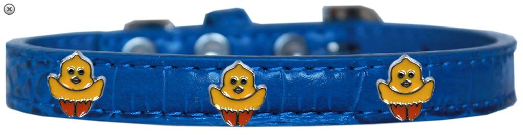 Chickadee Widget Croc Dog Collar