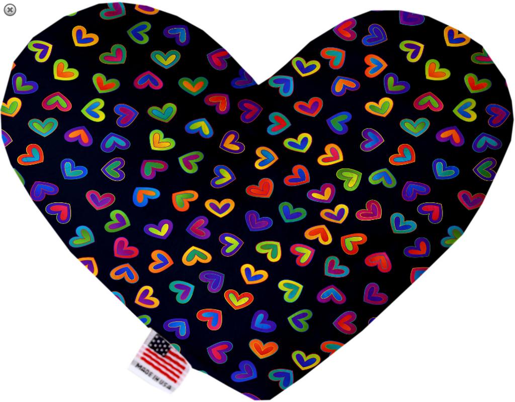 Bright Hearts Heart Dog Toy