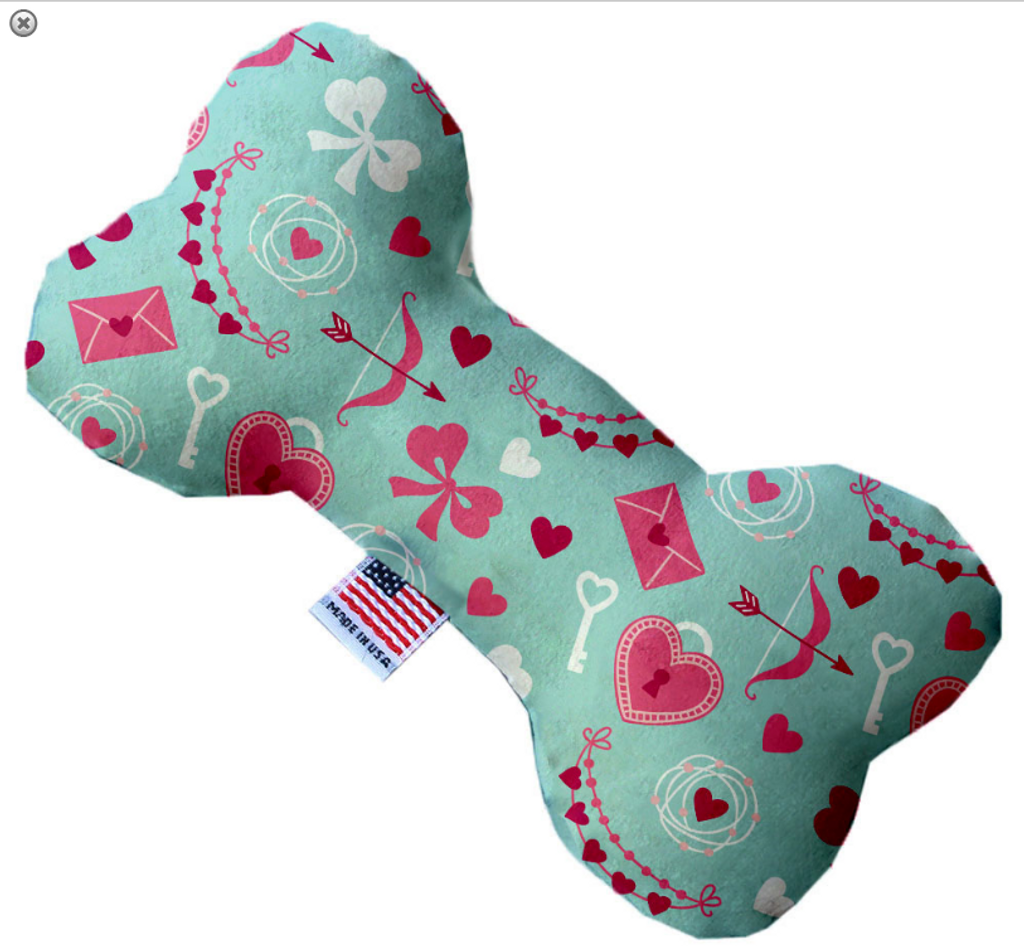 Cupid's Love Bone Dog Toy