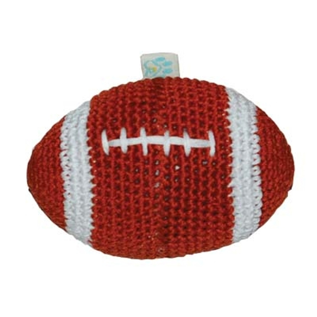 PAWer Squeaky Toy - Football