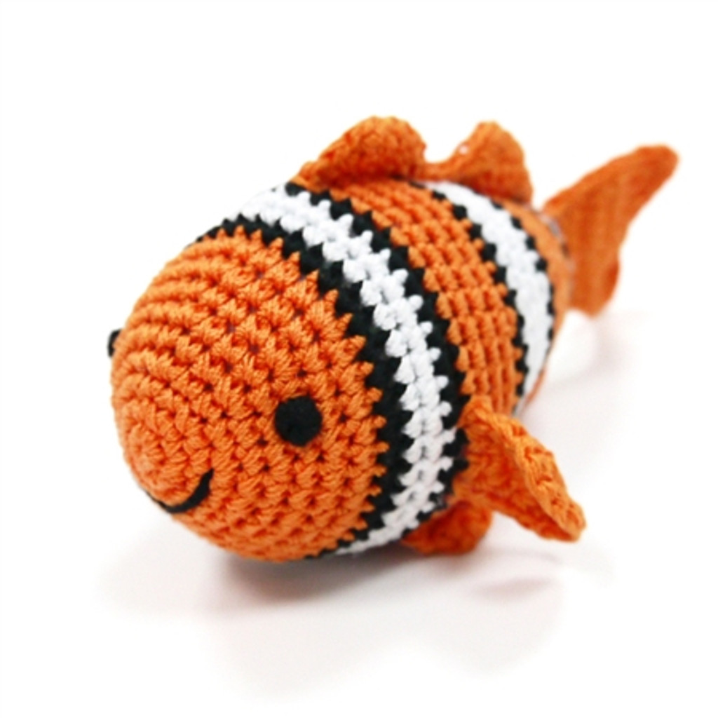 PAWer Squeaky Toy - Clownfish