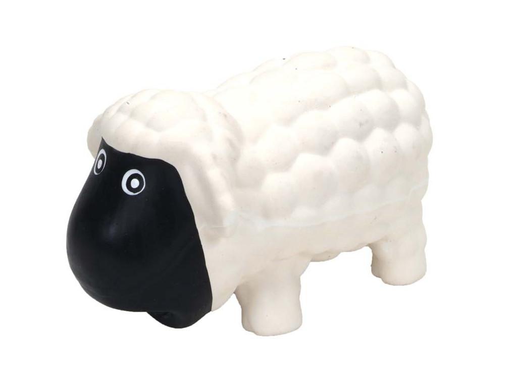 Coastal Rascals Latex Toy Sheep White 6.5 in