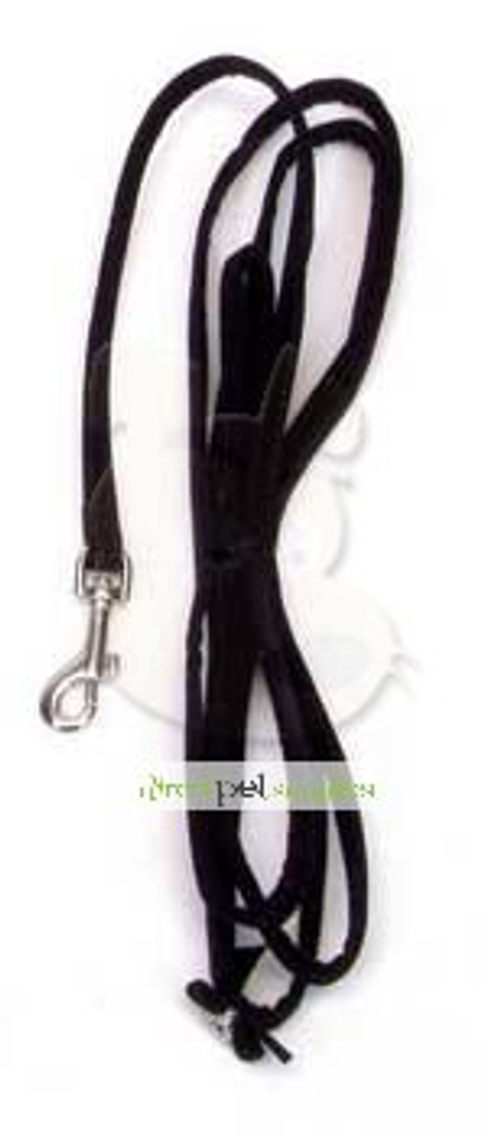 Li'l Pals Suede Jeweled Leash - Black