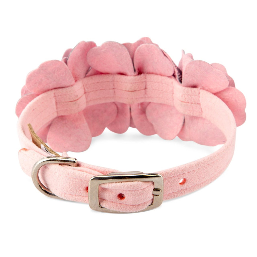 Scotty Furberry Pink Plaid Flower Collar 2
