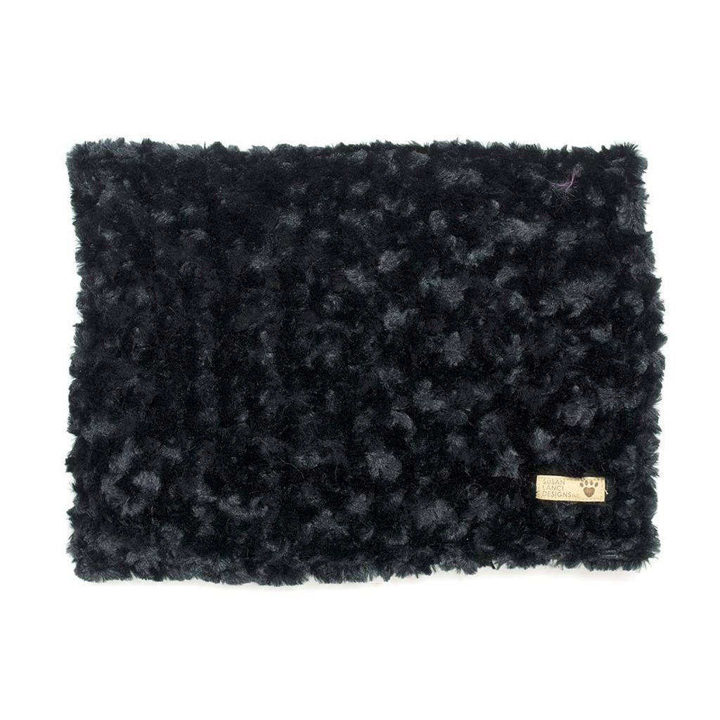 Black Curly Sue Blanket