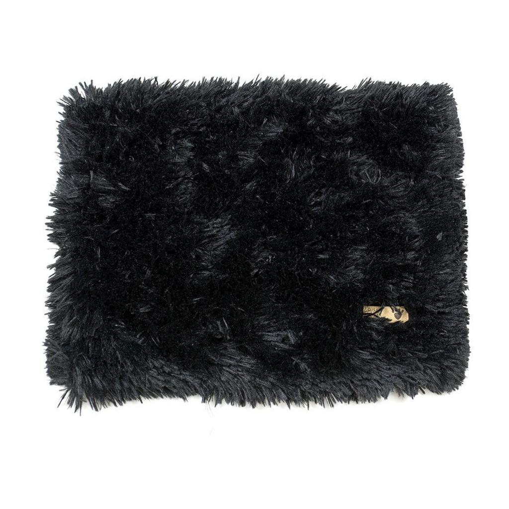 Black Shag Blanket