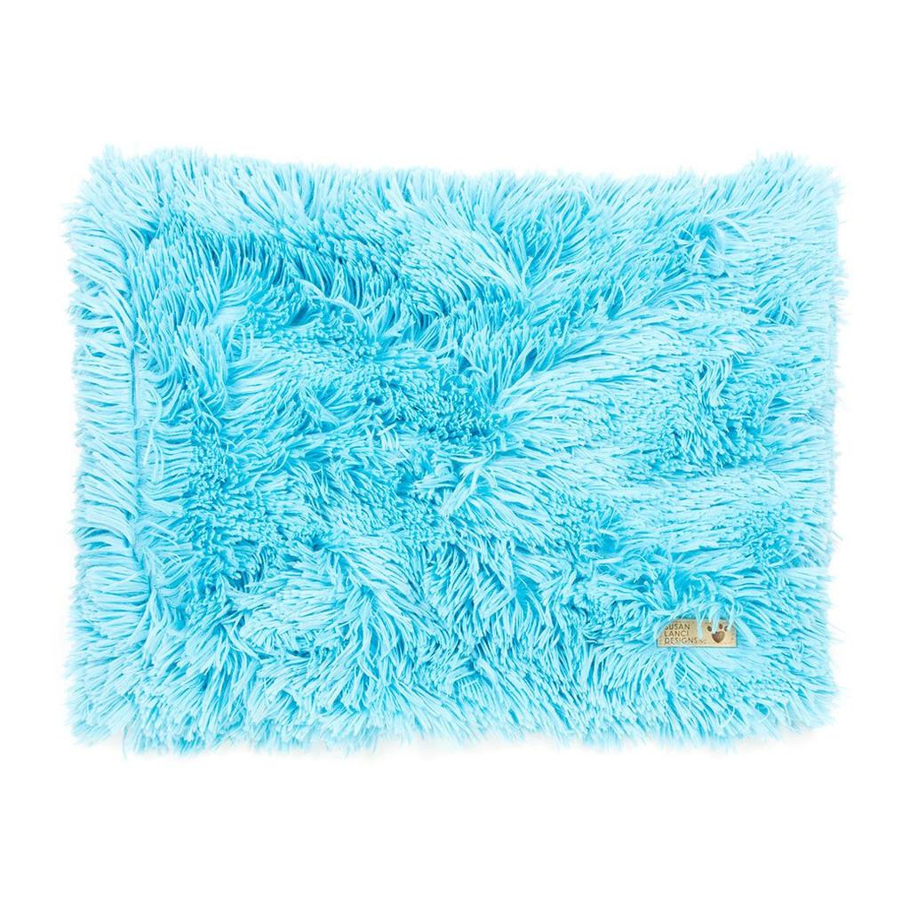 Blue Shag Blanket