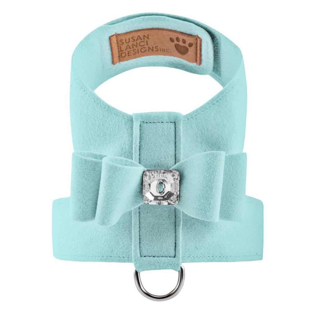 Luna Bowtique Tinkie Tiffinye Blue Big Bow Harness