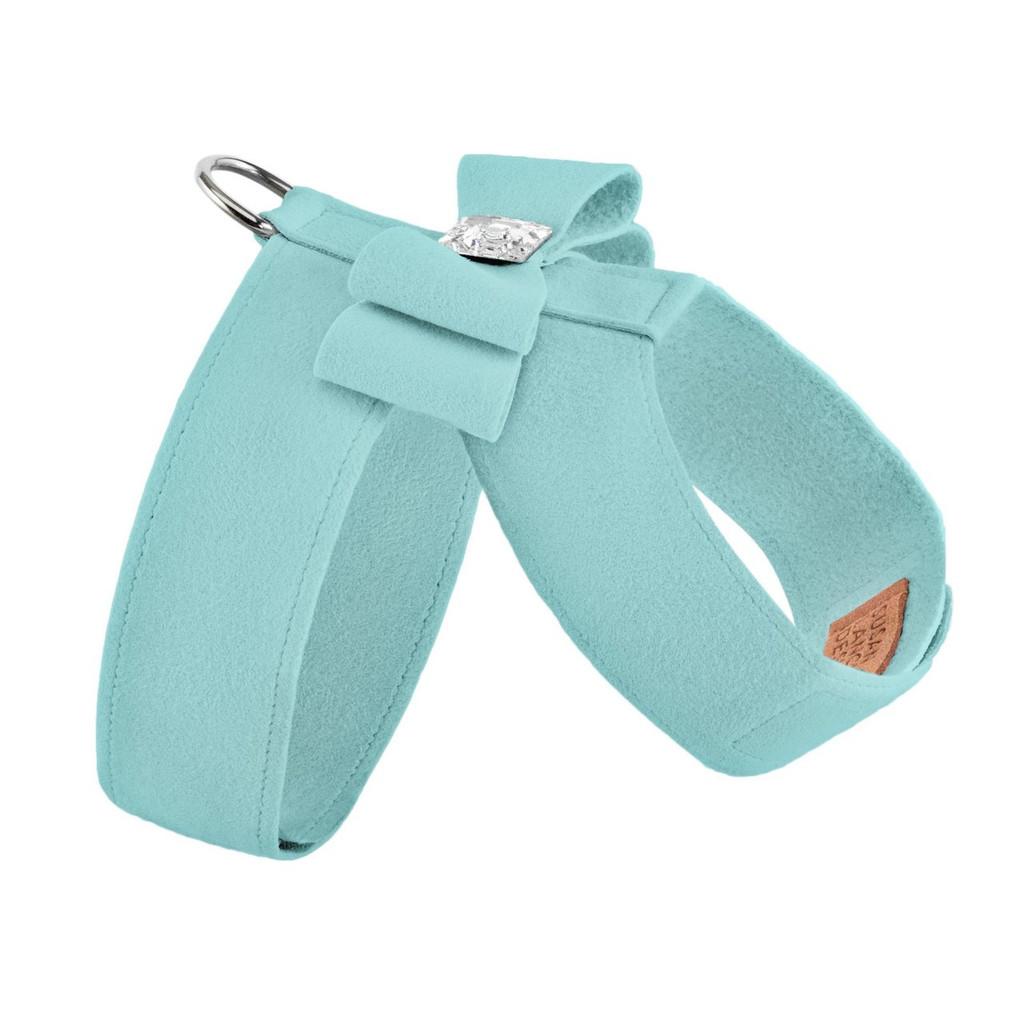 Luna Bowtique Tinkie Tiffinye Blue Big Bow Harness 2