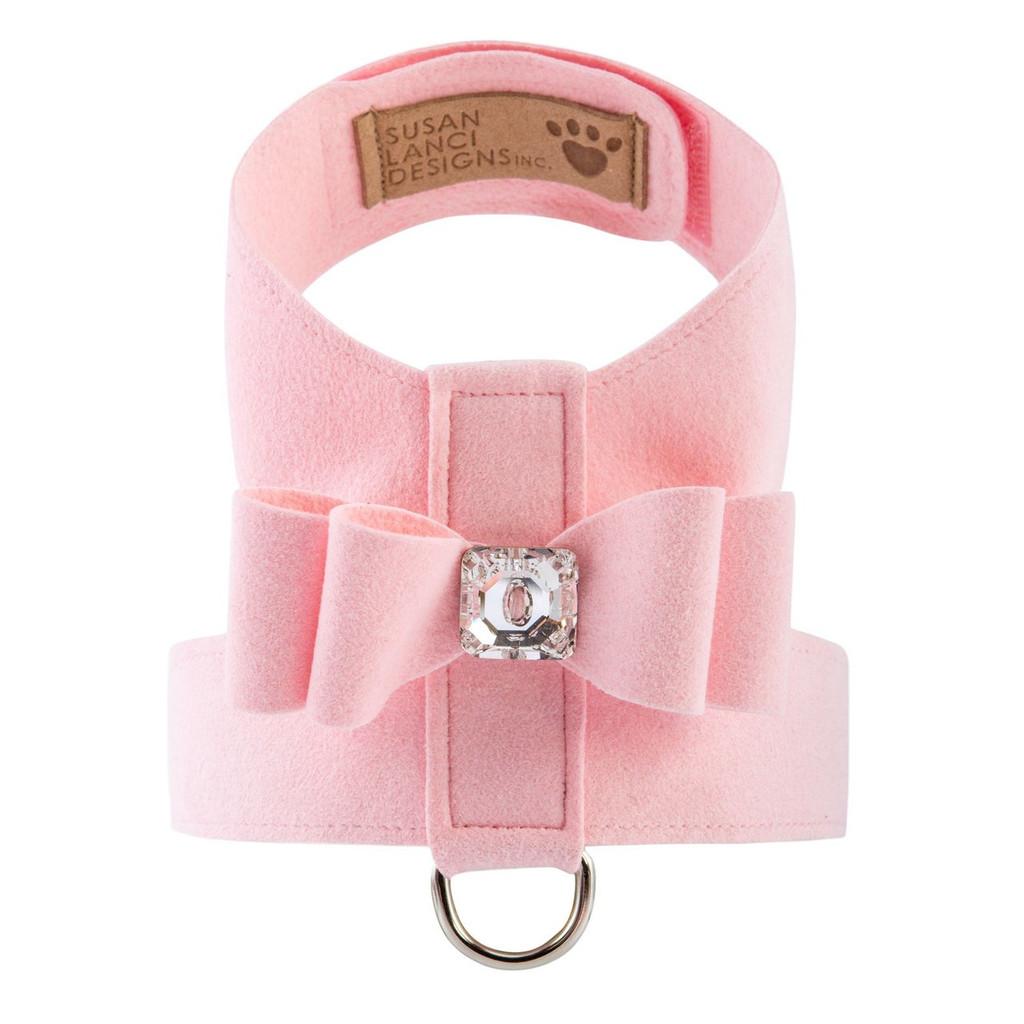 Luna Bowtique Tinkie Soft Pink Big Bow Harness