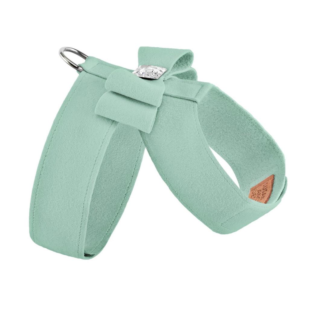 Luna Bowtique Tinkie Mint Big Bow Harness