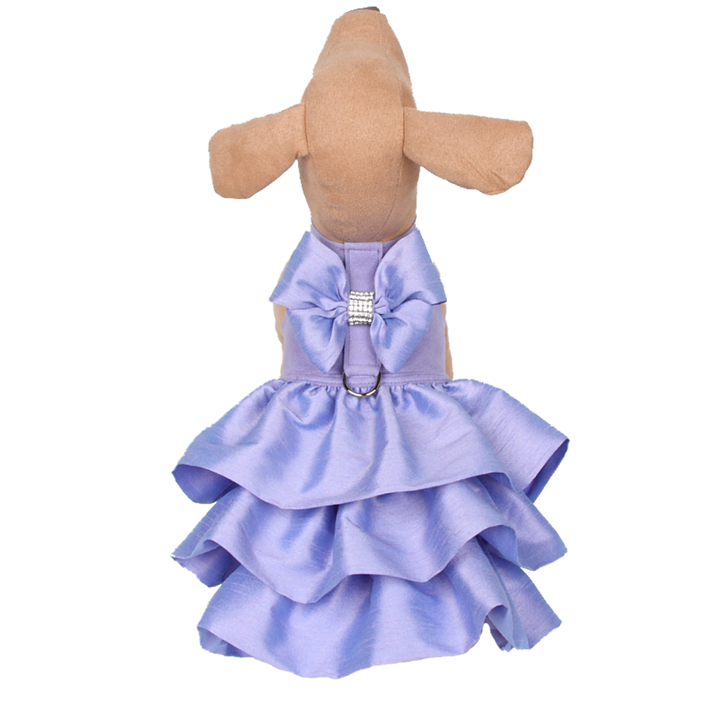 Madison Ruffle Lavender Couture Dress