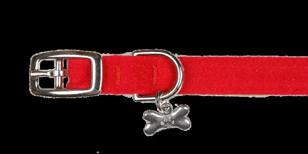 Boney Red Collar