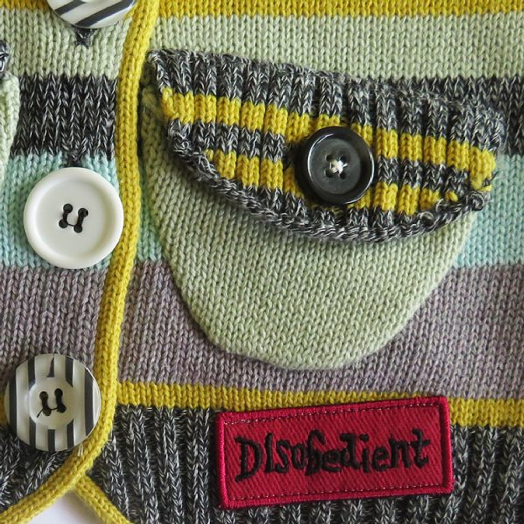 Sock Monkey Multi Color Sweater 3