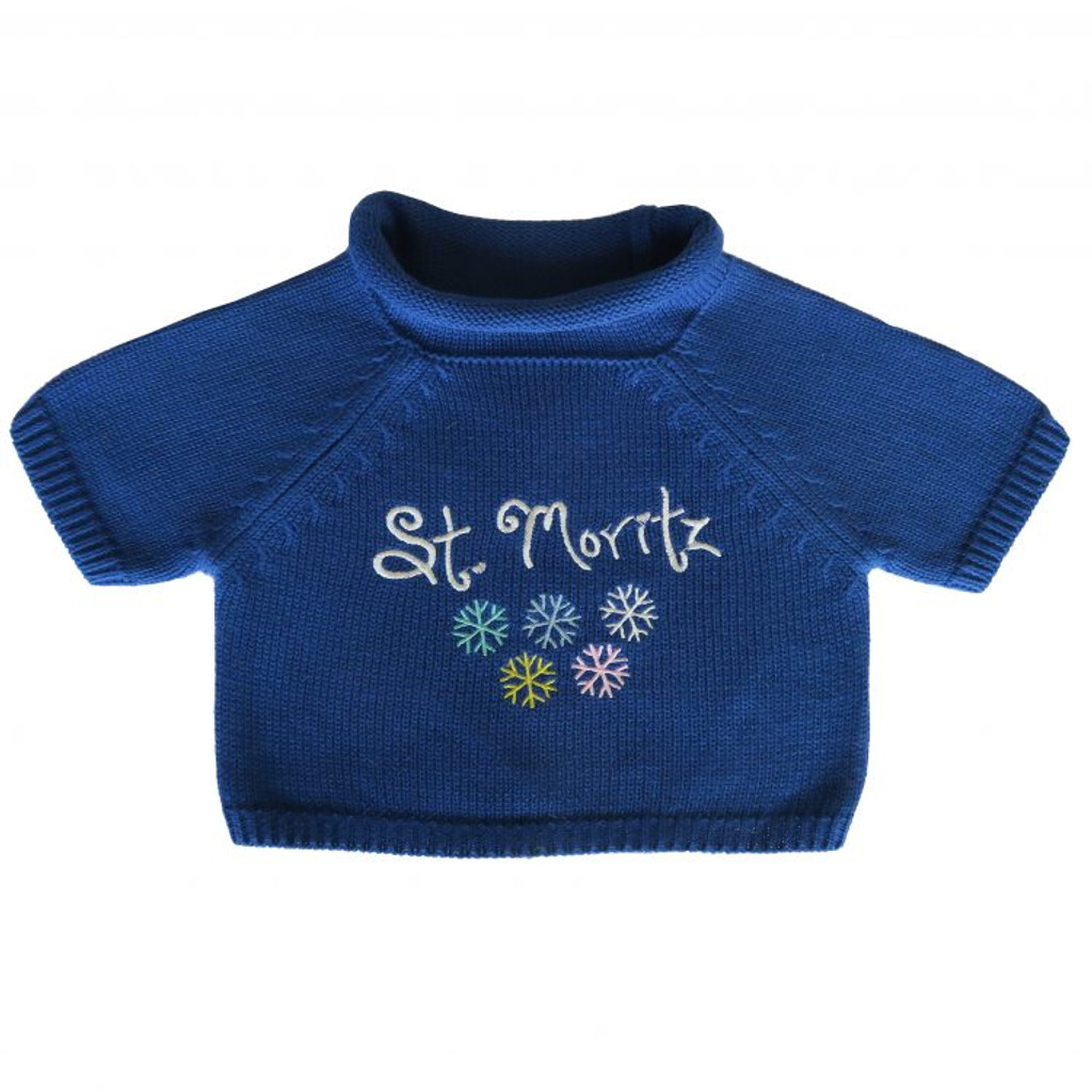 Blue St. Mortiz Sweater