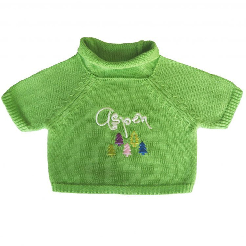 Green Aspen Sweater