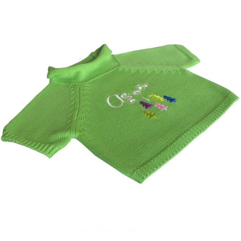 Green Aspen Sweater 2