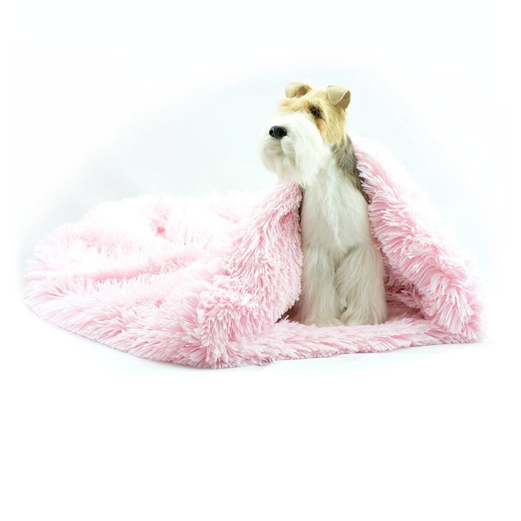 All Pink Shag Cuddle Sak