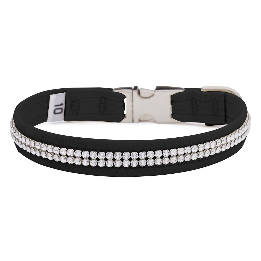 Two Row Black Gilmore Perfect Fit Collar