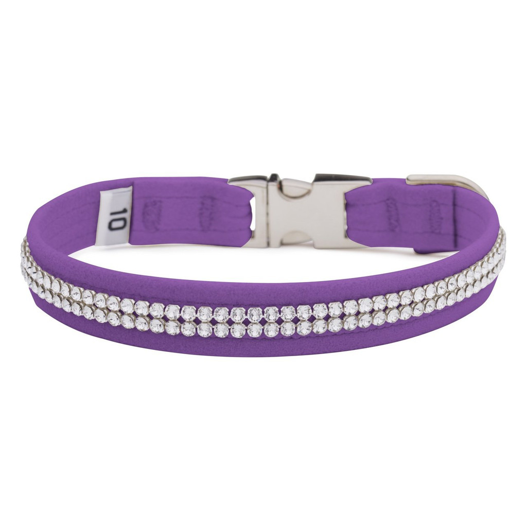 Two Row Purple Gilmore Perfect Fit Collar