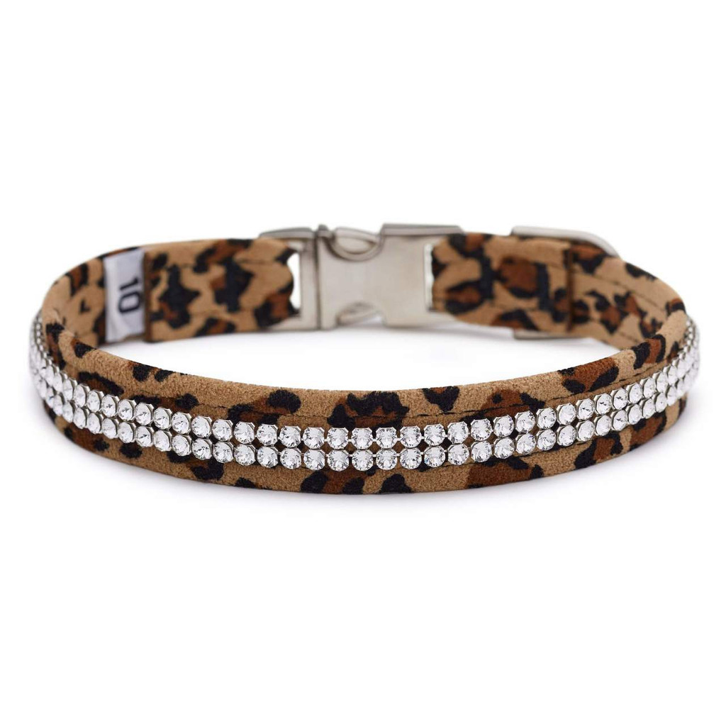 Two Row Cheetah Gilmore Perfect Fit Collar