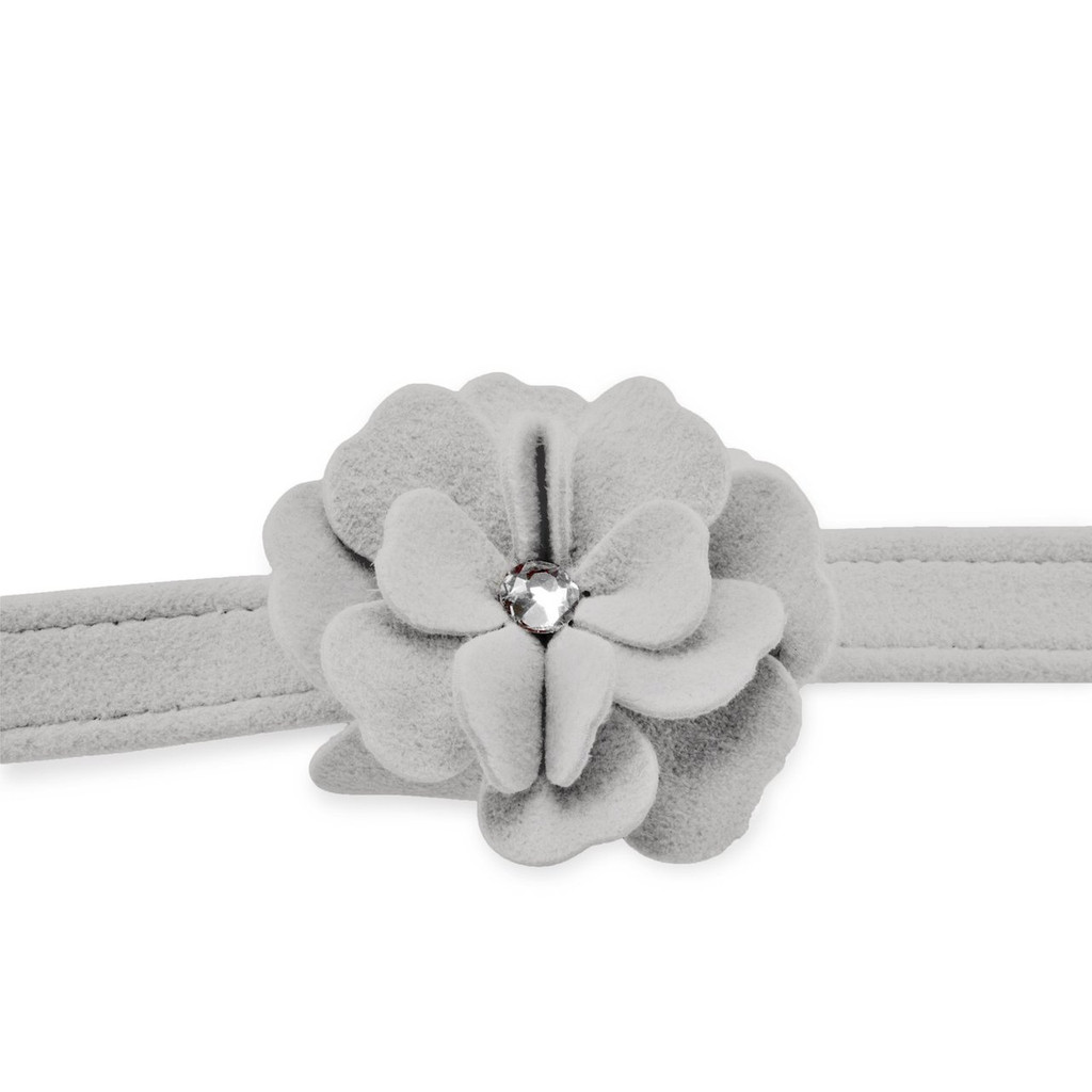 Garden Flower Silver Leash 2