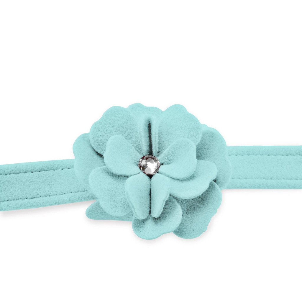 Garden Flower Tiffinye Blue Leash 2