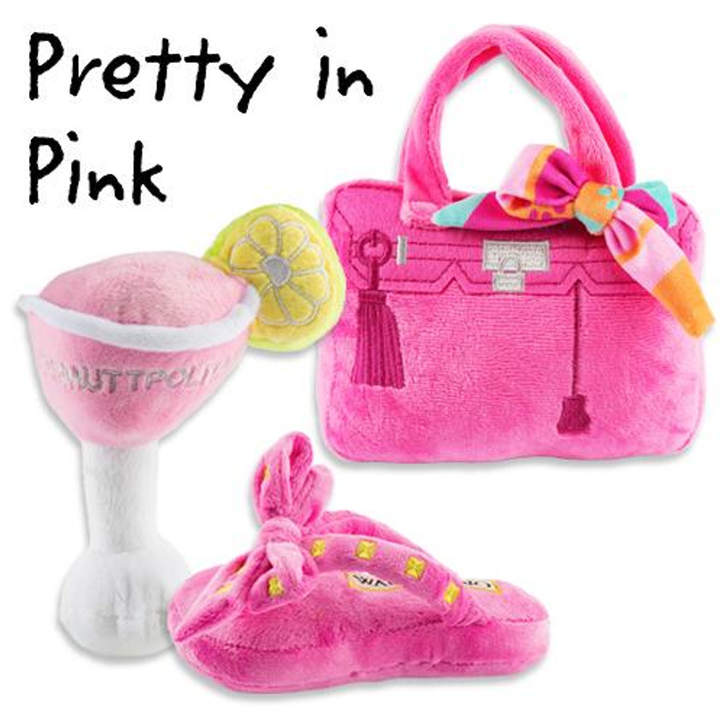 Pretty in Pink Plush Toys Pack