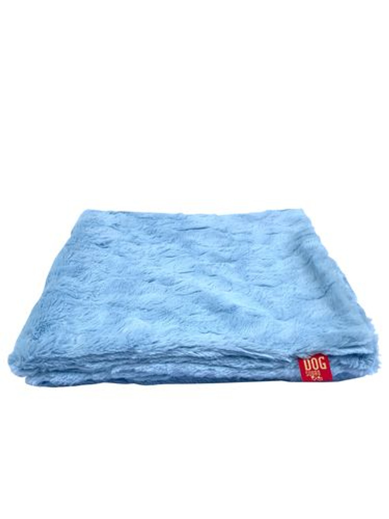 "Travel Medium 29""x29"" Blanket, Lt. Blue"